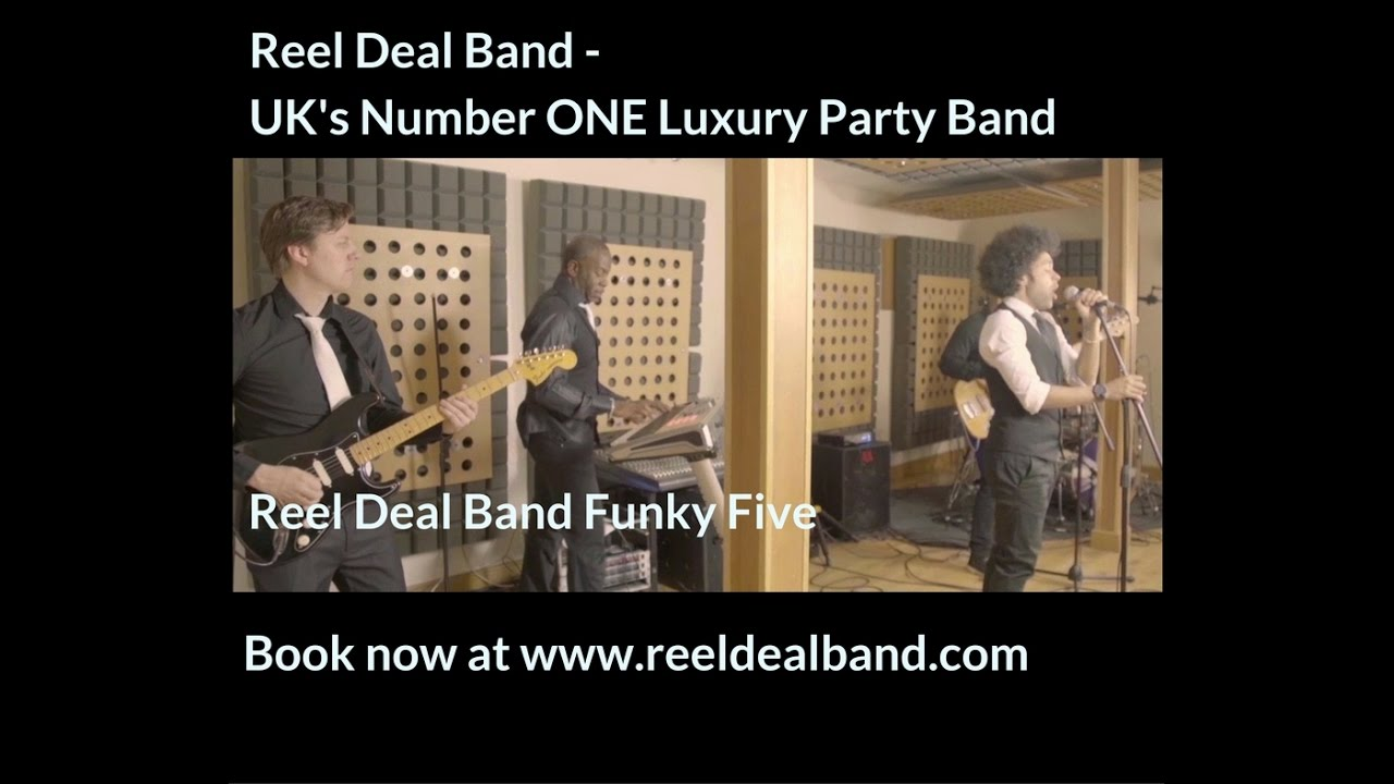 Reel Deal Band Funky Five
