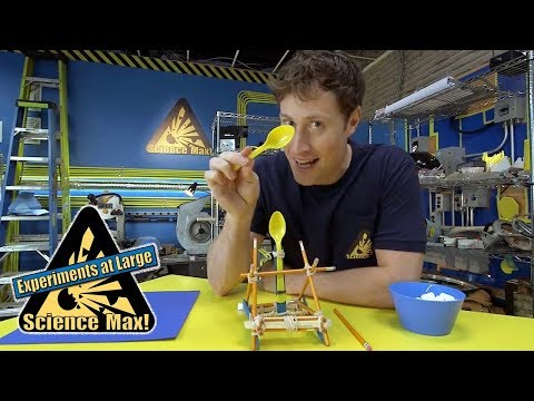 Science Max | ELASTIC ENERGY | Kids Science | Experiments