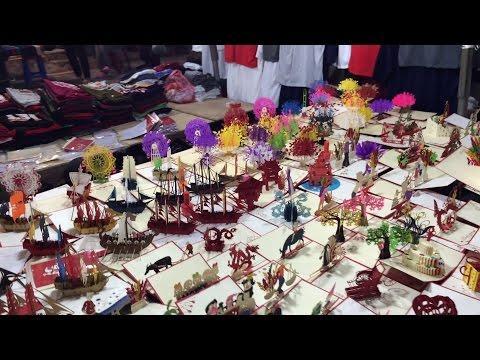 Vietnam: A tour of the night market in Hanoi