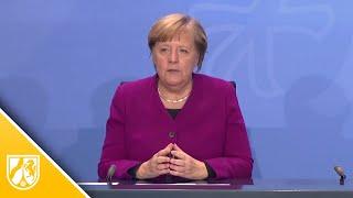 Angela Merkel äußert sich zur aktuellen Corona-Lage