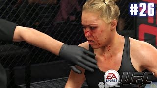 EA Sports UFC - Ronda Rousey vs Miesha Tate (EA Sports UFC PS4 Matches)