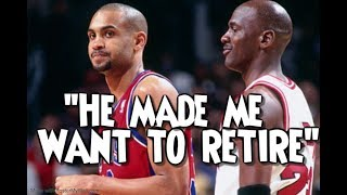 NBA Legends admitting that Jordan destroyed them