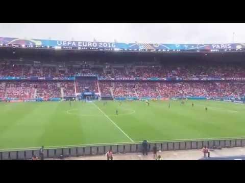 Euro 2016 Turkey vs. Croatia Time Lapse