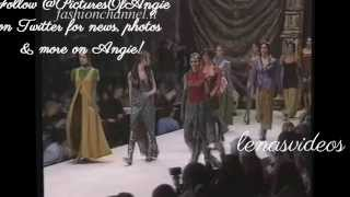Angie Harmon Runway Clips!