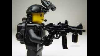 miniBIGS Custom LEGO Black Ops Soldier Minifigure Quick Review