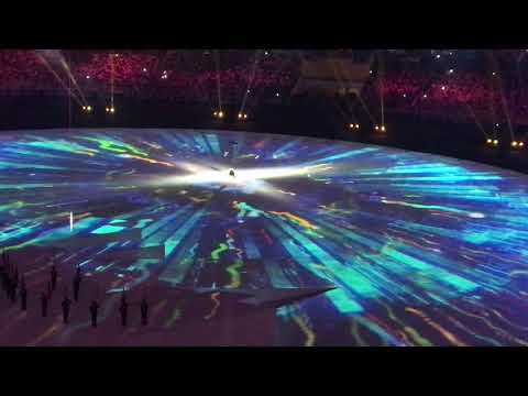 2017 SEA Games Opening Ceremony as viewed from the stadium grandstand - Kuala Lumpur 19/08/2017