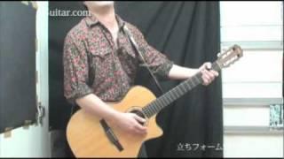 アコギを立って持ってみる【ギター初心者講座】by J-Guitar.com thumbnail