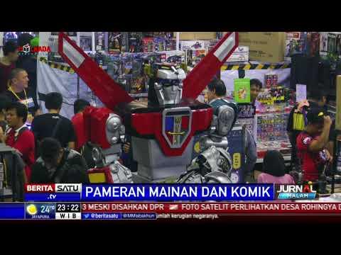 Pameran Mainan di Toys and Comics Fair 2018