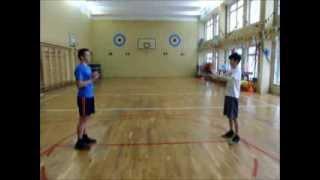 Видеоурок по баскетболу в ГБОУ СОШ № 534 (1 корп)
