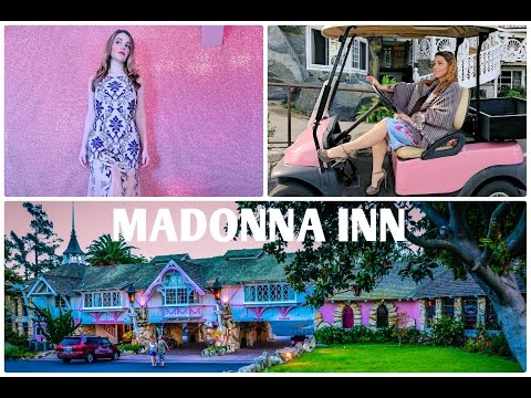 Madonna Inn Tour: Carin Room Tour, Mens Bathroom and More! // Stuart Brazell's Bucket List