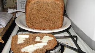 1.5 Pound Loaf Rye Bread Caraway Seeds Poppy Seeds Using Hamilton Beach Home Baker Bread Machine
