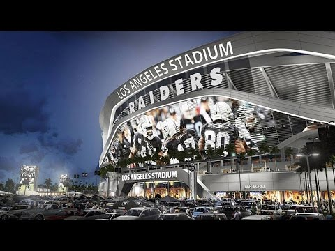 EXCLUSIVE CARSON STADUIM COVERAGE + LA RAIDERS 2016? + STADIUM Video #NFL2LA
