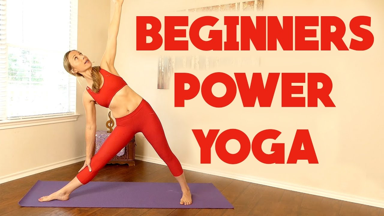 Beginners Power Yoga For Weight Loss 20 Minute Workout Full Body Routine At Home Fitness