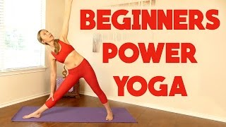 Beginners Power Yoga for Weight Loss ♥ 20 Minute Workout, Full Body Routine, At Home Fitness