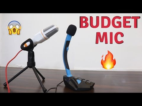 Budget Microphone | Condenser Microphone & Gaming Microphone | Tech Unboxing 🔥