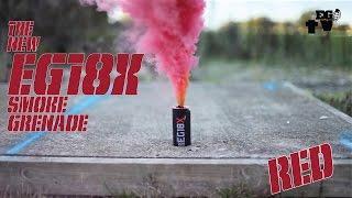 Enola Gaye EG18X Red Smoke Grenade