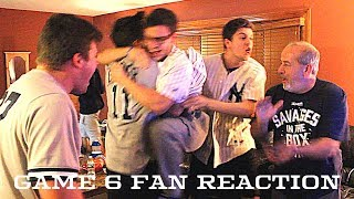 Yankees Fan Reaction - Game 6 ALCS - Yankees 4 Astros 6