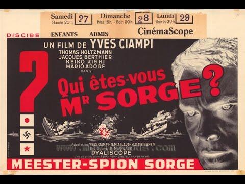 Кто вы, доктор Зорге? Франция, Италия, Япония 1961 г.