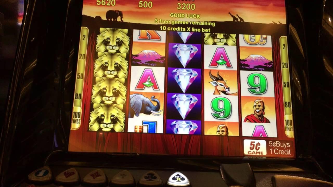 Lion Slots Machine