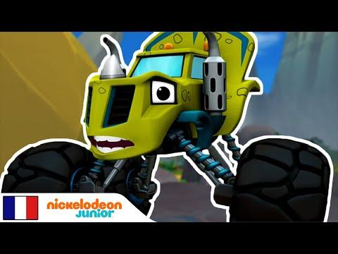 Blaze Et Les Monster Machines | Dino Dash 🦖 | Nick Jr.