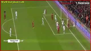 Video Gol Pertandingan Liverpool vs Swansea City
