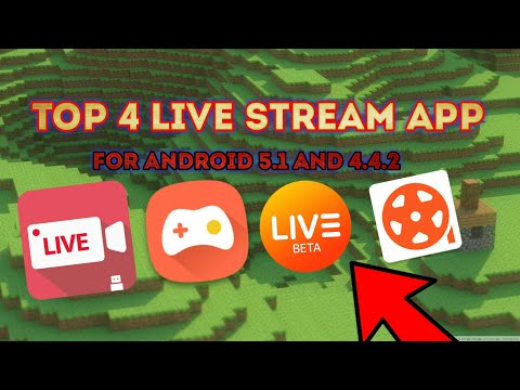 Top 4 Live Stream App For Android 5.1 And 4.4.2