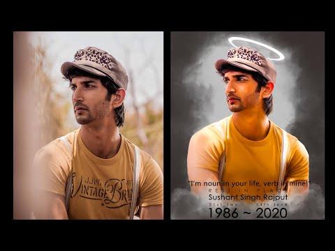 sushant-singh-rajput-||-sumadge-digital-painting-||--photoshop-tutorial