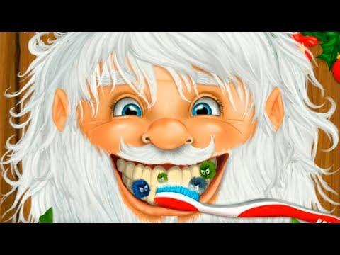 Прически и наряд для Деда Мороза на новый год в детской игре
