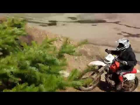 1986 Honda XR250R Hill Climb
