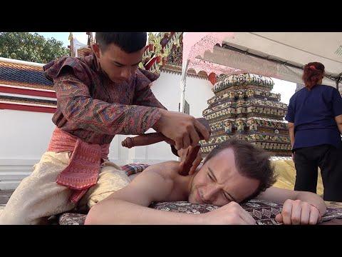 Tourists Have Hammer Massages In Thailand