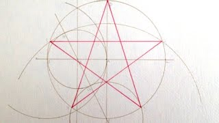 Pentagram Construction.