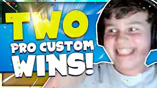 WINNING TWO PRO ONLY CUSTOMS! (Solo Customs)