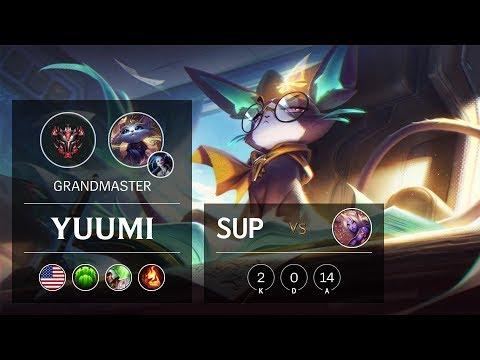 Yuumi Support vs Soraka - NA Grandmaster Patch 10.2