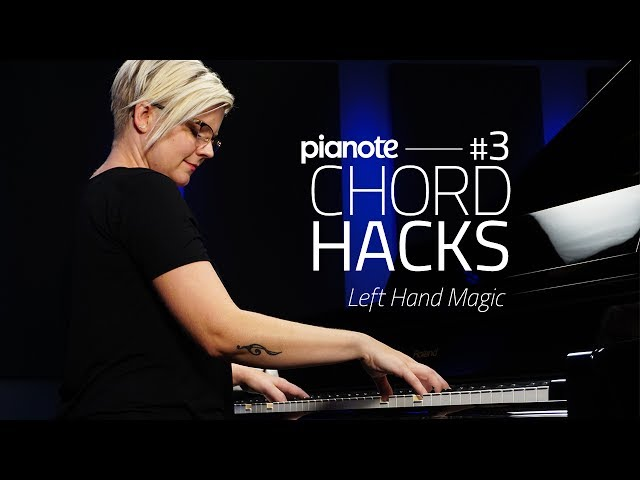 Piano Chord Hacks #3: Left Hand Magic (Piano Lesson)
