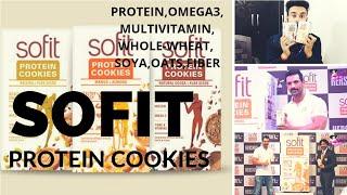 SOFIT PROTEIN COOKIES | PROTEIN | OATS | FIBER | OMEGA-3 | MULTIVITAMIN| WHOLE-WHEAT || MISTER BAGGA