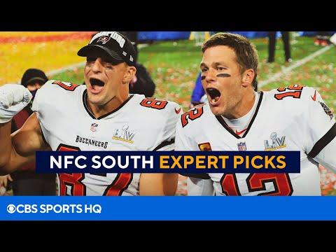 NFL Division Picks: Can anyone catch Tom Brady, Bucs? NFC South Breakdown  CBS Sports HQ