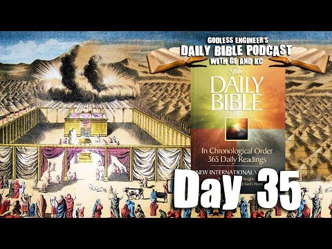 Levites Shave Their Bodies For God's Pleasure || GE's Daily Bible Podcast, Day 35