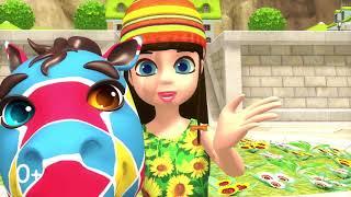 Колыбельная - Милая крошка, глазки закрой Музей песен | Песенки для детей Робокар Поли
