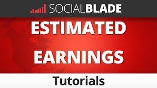 Social Blade Estimated Earnings Explained - Social Blade YouTube Tips 39
