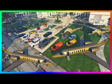 GTA ONLINE BILLIONAIRE'S BASH SPECIAL - MOST EXPENSIVE VEHICLES, PLAYBOY MANSION PARTY GTA 5 & MORE!