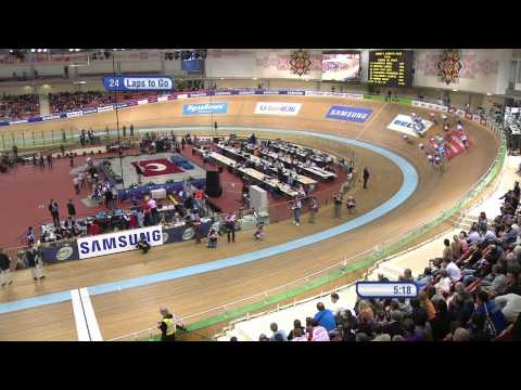 Women's Scratch Race - Final - 2013 UCI World Track Championships