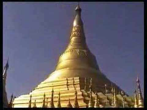 The pagodas of Yangon (Myanmar)