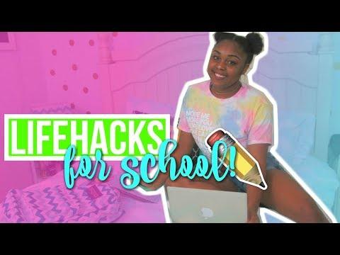 BACK TO SCHOOL LIFEHACKS YOU NEED TO KNOW!