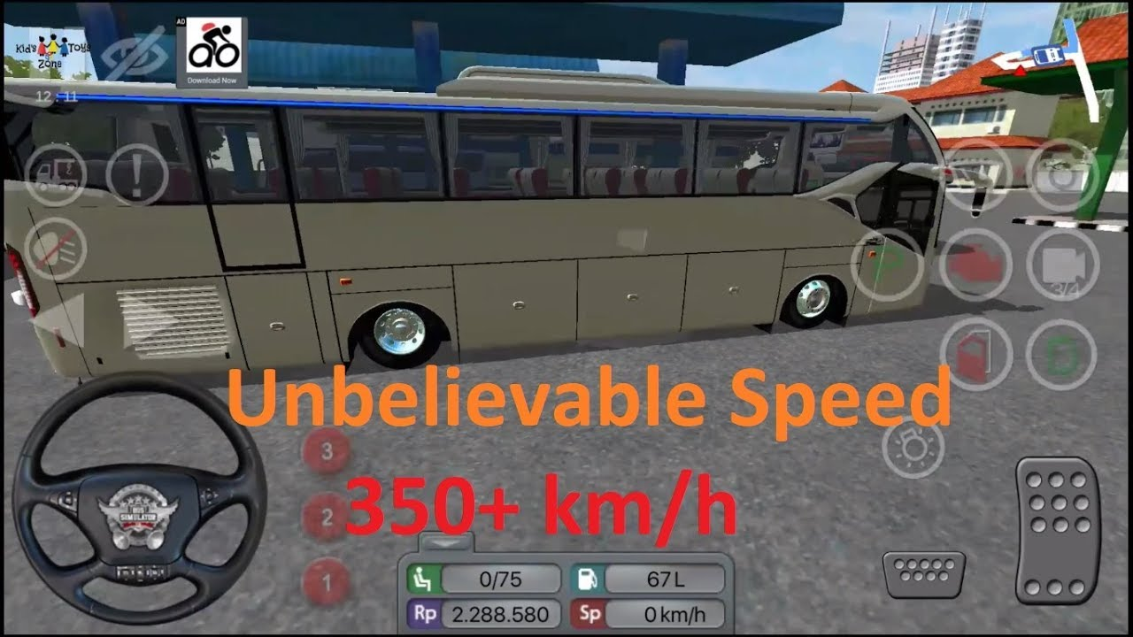 Unbelievable Bus Speed Mod Bus Simulator Indonesia Bussid V3 0 Android Games Toys Zone