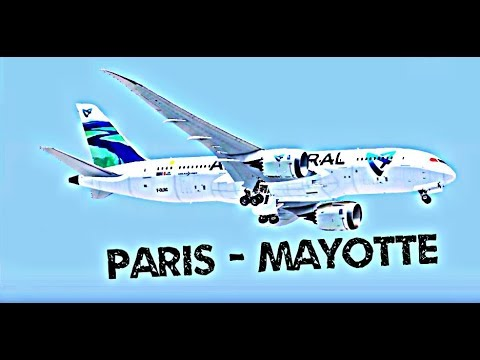 FSX | Paris CDG - Mayotte ✈ B787-8 Dreamliner Air Austral F-OLRC / UU976