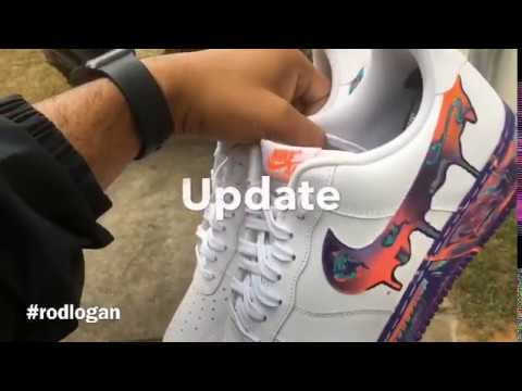 Nike Air Force 1 '07 LV8 'Multi Color Marble' Review