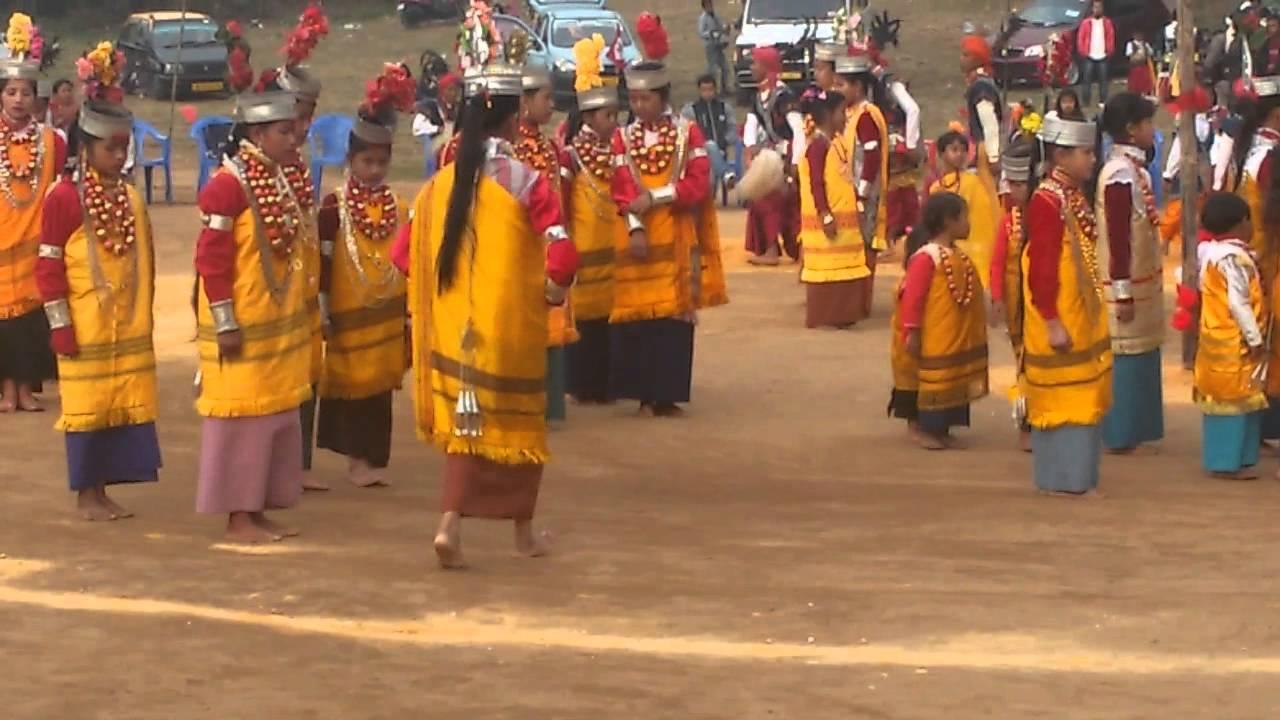 Khasi Dance Festival in Shillong on 22nd Feb 15 - YouTube