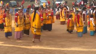 Khasi Dance Festival in Shillong on 22nd Feb 15
