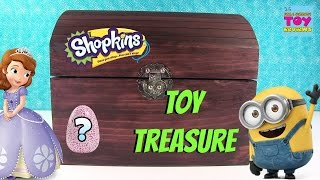 Simons Blind Bag Treasure Chest #49 Unboxing Shopkins Roblox CollEGGtibles Disney Madballs | PSToyRe