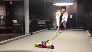 Standard 8 ball Break (for intermediate level players)
